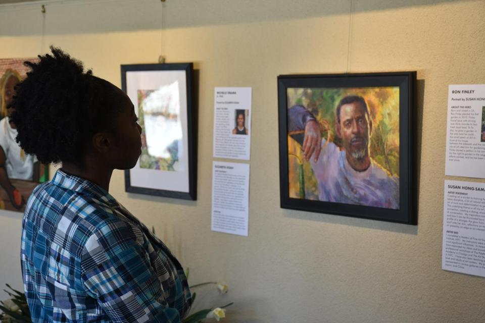 Tower Hill Botanic Garden in Boylston is exhibiting portraits of plant advocates throughout history.