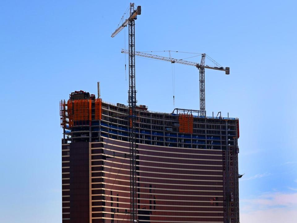 Encore Boston Harbor is scheduled to open in June.