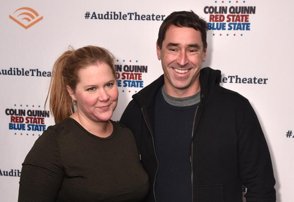 Amy Schumer talks about pregnancy and her husband, Chris Fischer