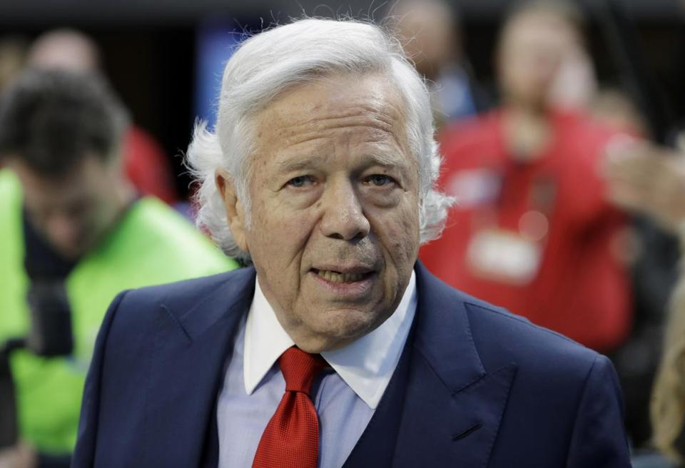 New England Patriots owner Robert Kraft has rejected a plea deal offered by Florida prosecutors that would have required him to admit that he was guilty of soliciting prostitution when he twice visited a day spa in January, a Kraft ally said Wednesday.