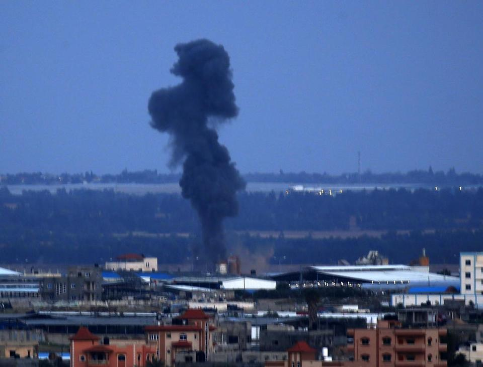 Israeli airstrike gaza strip