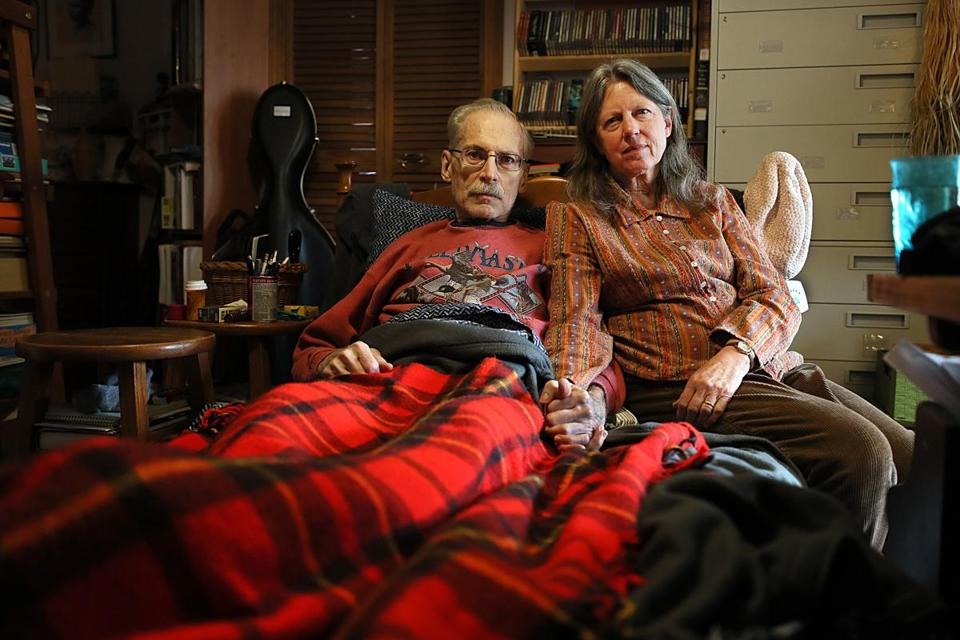 Don Smith has cancer and his wife, Deborah, was not allowed to go with him to purchase medical marijuana.