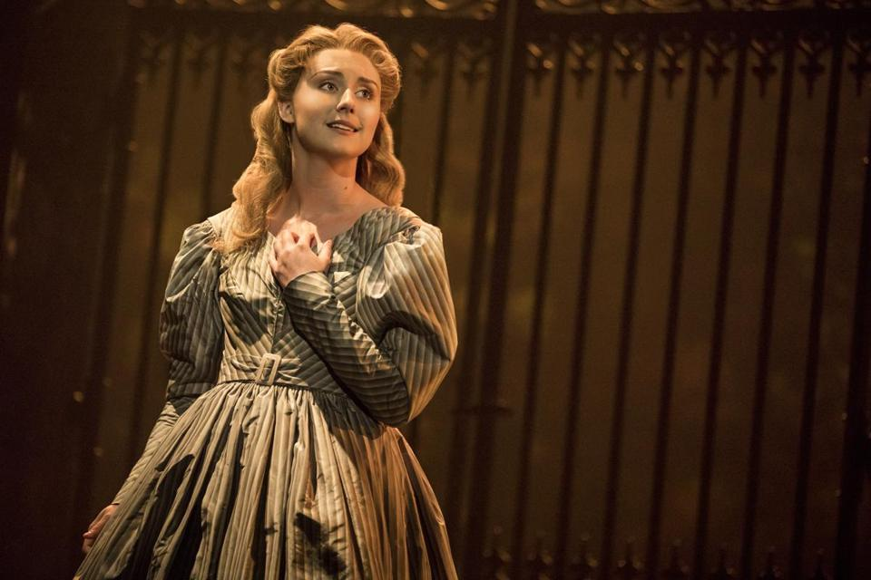 "Jillian Butler as Cosette in the touring production of ""Les Misérables."""