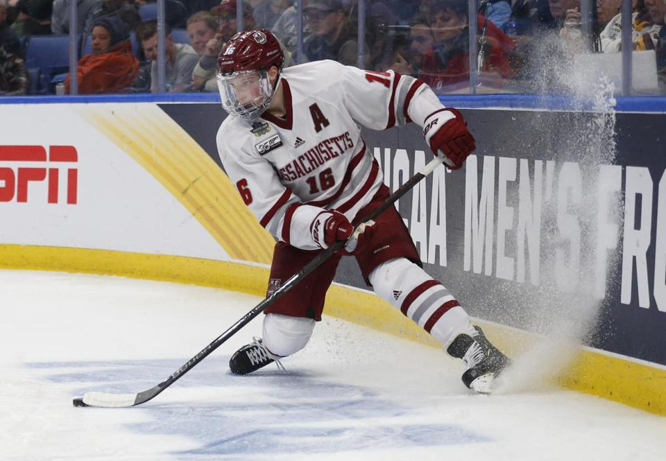 Cale Makar guided the Minutemen to the Frozen Four and signed an entry-level contract with the Colorado Avalanche on Sunday.