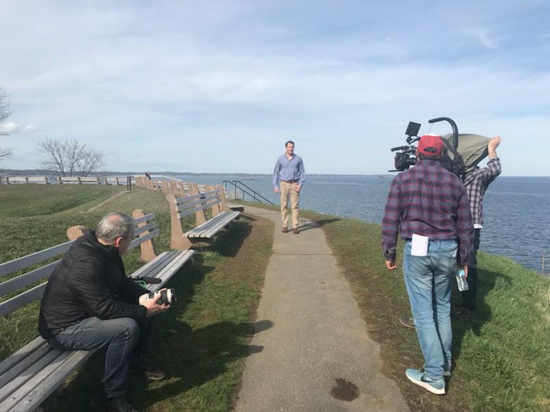 Seth Moulton's seaside video shoot could mean decision to enter 2020 race is imminent