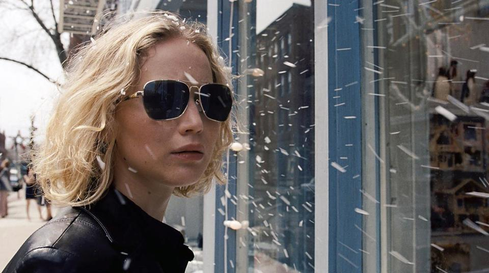 "Jennifer Lawrence in a scene from the film ""Joy."""