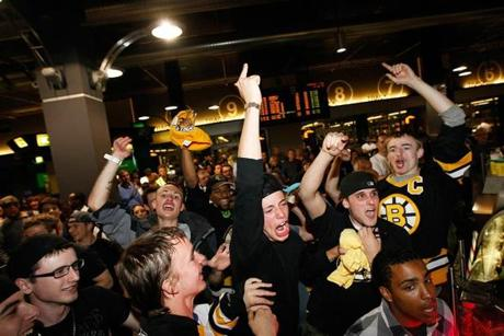 Back in Boston, Bruins fans celebrated the team's first championship in 39 years.