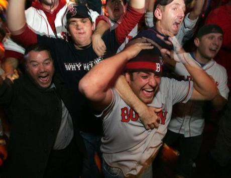 Back in Boston, jubilant fans celebrated the World Series championship that had escaped them for generations.