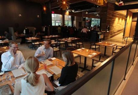 Catalyst opened just two weeks ago in Kendall Square, but the food is already getting a reaction.