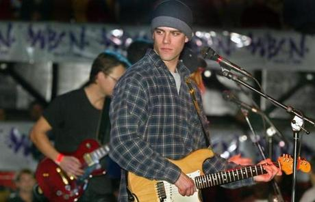 Personally, Epstein (shown at a Jimmy Fund benefit on Jan. 15, 2003) grew from a Pearl Jam-loving bachelor into a seasoned baseball executive during his time with the Red Sox.