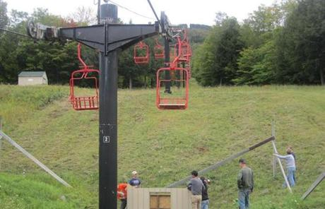 Chairlifts had a reputation for being unreliable, but the main lift has been repaired. A second lift, idle for three years, is running again.