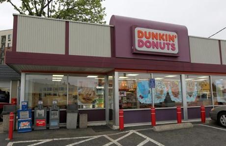 Previously, the store looked like every other Dunkin' Donuts location.