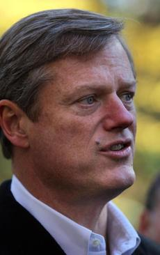 Former gubernatorial candidate Charlie Baker has also consistently had a head of finely-groomed hair.