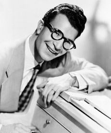 American composer, pianist and jazz musician Dave Brubeck in August, 1956.