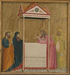 The Presentation of the Christ Child in the Temple about 1320 Giotto, Italian, about 12671337 15gardnergems