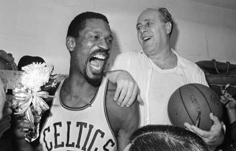 No. 8: Bill Russell: 14,522 points.