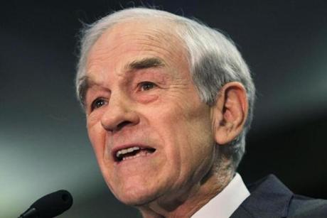 RON PAUL: Worth as much as $5.2 million.