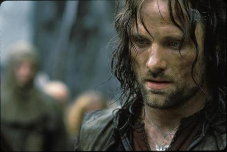 Aragorn in ''The Lord of the Rings'' trilogy.