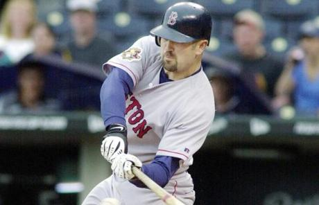 On May 20, 2001, Varitek blasted three home runs in a 10-3 win at Kansas City.