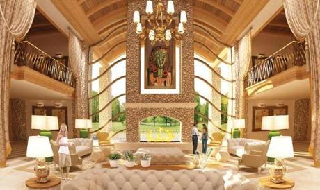 Casino Mogul Steve Wynn Releases Renderings Of Billion Dollar Foxborough Project The Boston Globe