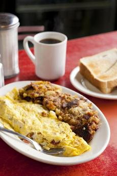 The Knotty Pine Lunch295 Auburn Street, Auburndale, 617-527-9864, knottypinelunch.comKnotty Pine Omelete by Anthony Tieuli