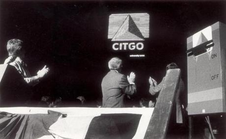 The Citgo sign was turned back on in 1983 after being dark for several years.