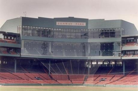 In 1989, Fenway Park underwent a radical reconfiguration when the glass-enclosed 600 Club debuted.