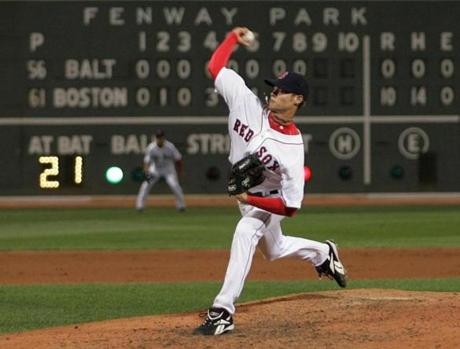 Clay Buchholz fired a no-hitter against the Orioles on Sept. 1, 2007.