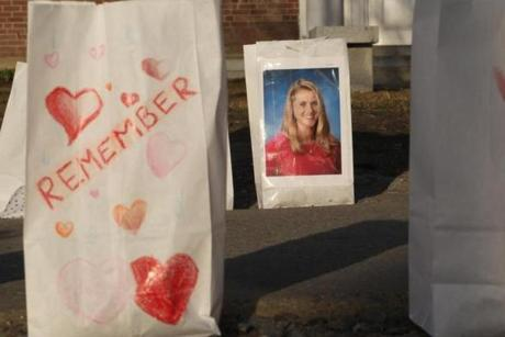 Family and friend in the Vermont community plan to gather on Saturday and celebrate Melissa Jenkins' life and work. A couple have been charged in her death.