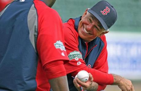 Bobby Valentine has brought a new energy to the Red Sox this year after replacing Terry Francona.