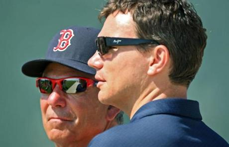 Valentine and general manager Ben Cherington are both in their first season at their current positions.