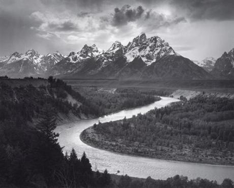 Grand Teton National Park, Wyoming, 1942.