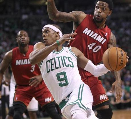 Rajon Rondo and the Celtics lost at home in Game 6 as the Heat forced a Game 7 Saturday in Miami.