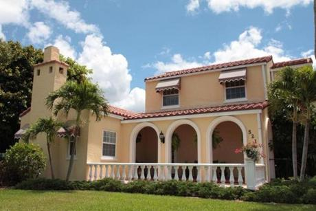 Complementary to the Venice, Fla., city plan designed by John Nolen, a 1926-27 Mediterranean Revival house