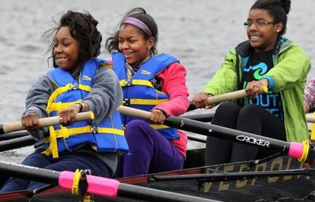 Students arrive at 9 a.m. on Sunday mornings. They have two hours of classroom instruction and two hours on the water.