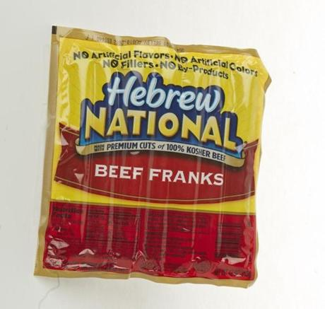 "Hebrew National Beef Franks (7 links/12 oz./$5.29 at Stop & Shop); comments . . . ""Bland bland bland."" ""Wish there were more to it."" ""Very skinny dogs."""