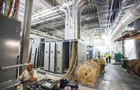 At the Massachusetts Green High Performance Computing Center, the focus is on energy efficiency.