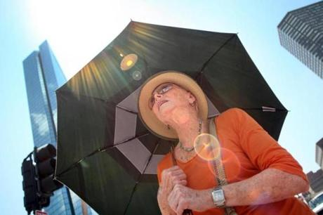 Parasols Becoming A New Sun Protection Trend The Boston