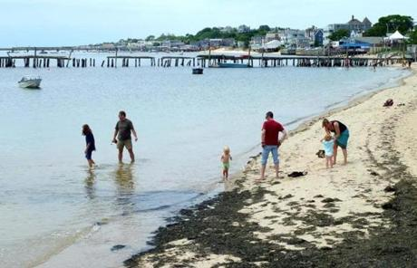 The Cape's sandy beaches begin right at Provincetown's harbor.