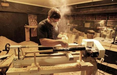 The Making Of Lacasse Baseball Bats Photo 1 Of 10 Pictures The