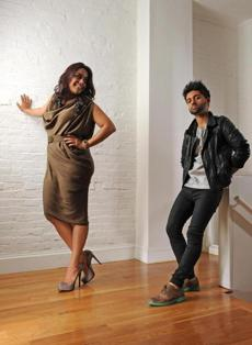 VIVEK PATEL and RADHIKA RANA. Age: 25 and 31. Occupation: Co-owners of Vira boutique. Residence: Burlington and Somerville.