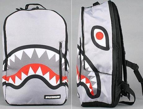 Sprayground Eat Me backpack, $50 at www.karmaloop.com.