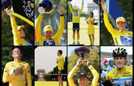 The USADA said Thursday it would ban cyclist Lance Armstrong for life and strip him of his seven Tour de France wins.