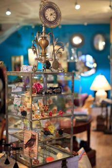 Boston, MA - 8/29/2012 - Ensemble Boston - The retail store Ensemble in Boston's North End offers an eclectic mix of new and used clothes, jewelry and home goods. Topic: 0916StyleShoppingNews - Dina Rudick/Globe Staff.