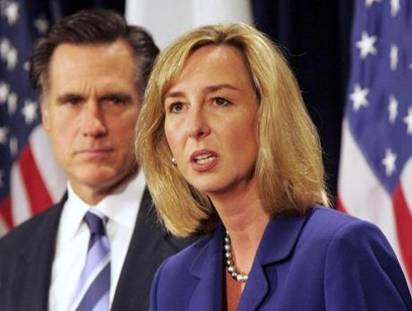 Kerry Healey, former lieutenant governor, could be another Republican candidate.
