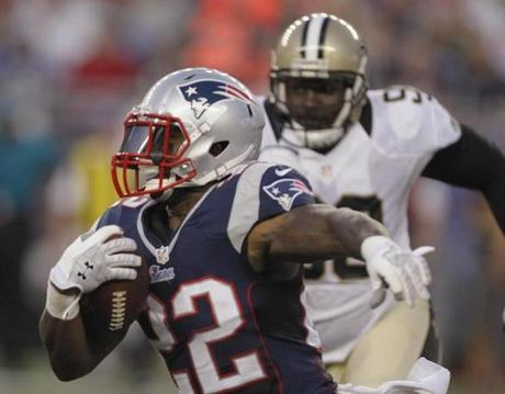 Is Stevan Ridley ready to carry much of the load at running back for the Patriots?