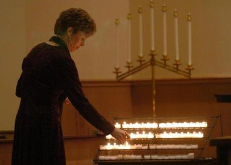 In 2004, the Rev. Laura Biddle led a memorial service for the teen at the city's Central Congregational Church.