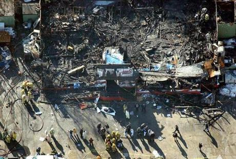 On Feb. 20, 2003, a quick-moving fire broke out in a West Warwick, R.I., nightclub, killed 100 people and injuring hundreds more.