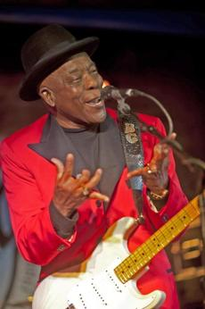 Buddy Guy at Buddy Guy's Legends on January 5, 2012 in Chicago.