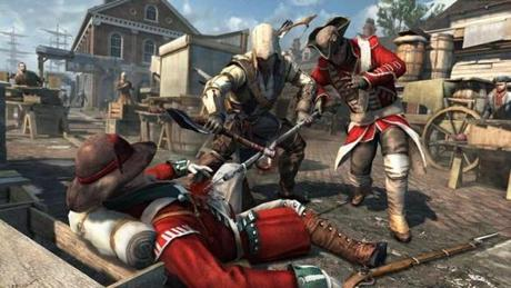 Assassin's Creed III: $60, for Xbox 360, Sony PlayStation 3, Nintendo Wii U consoles, and Windows PCs. There's a complex, intelligent plot with demanding but sometimes frustrating gameplay.